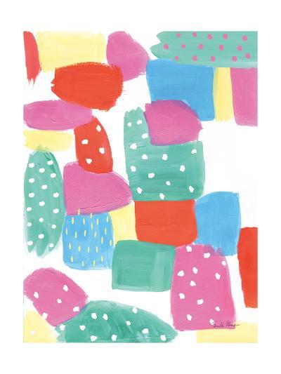Happy II-Farida Zaman-Art Print