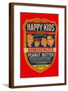 Happy Kids Homogenized Peanut Butter