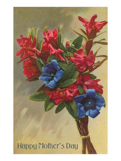 Happy Mothers Day, Rhododendrons--Art Print