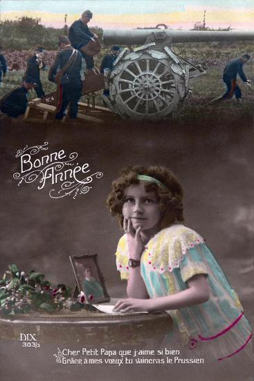 Happy New Year, 1915--Giclee Print