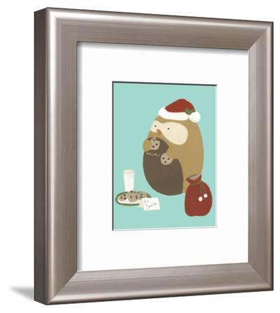 Happy Owlidays IX-June Vess-Framed Art Print