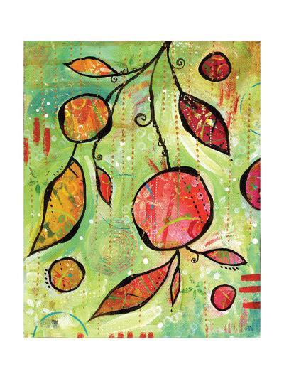 Happy Pink Dance-BJ Lantz-Art Print