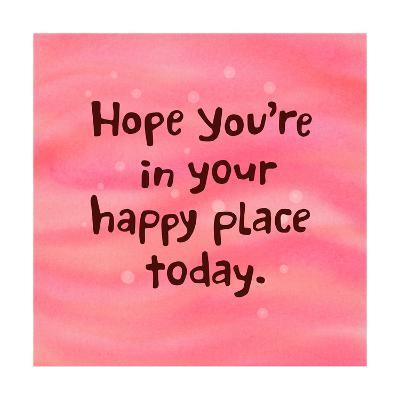 Happy Place--Art Print