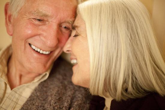 Happy Senior Couple-Science Photo Library-Photographic Print