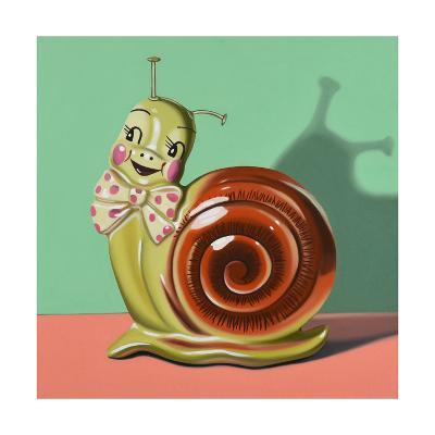 Happy Snail-Cassie Marie Edwards-Giclee Print