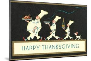 Happy Thanksgiving, Procession of Chefs