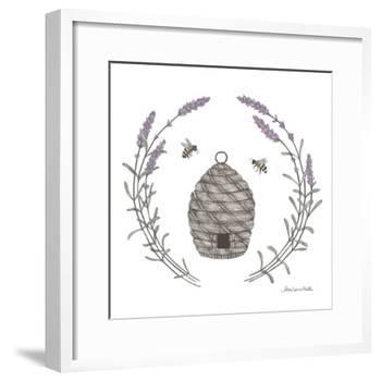 Happy to Bee Home II-Sara Zieve Miller-Framed Art Print