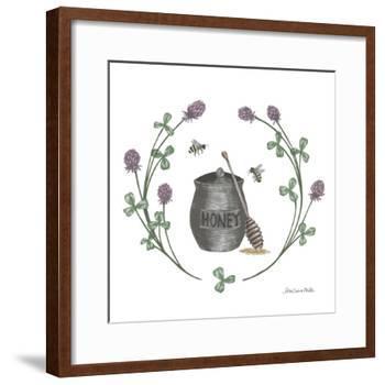 Happy to Bee Home IV-Sara Zieve Miller-Framed Art Print