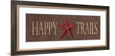 Happy Trails-Jo Moulton-Framed Art Print