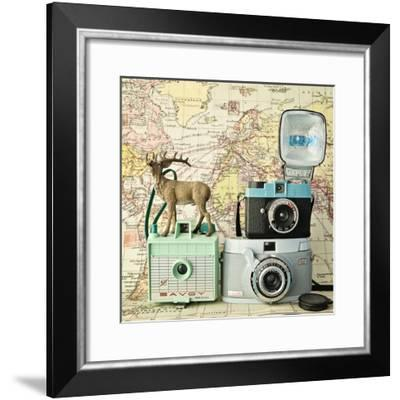 Happy Travels-Susannah Tucker-Framed Art Print