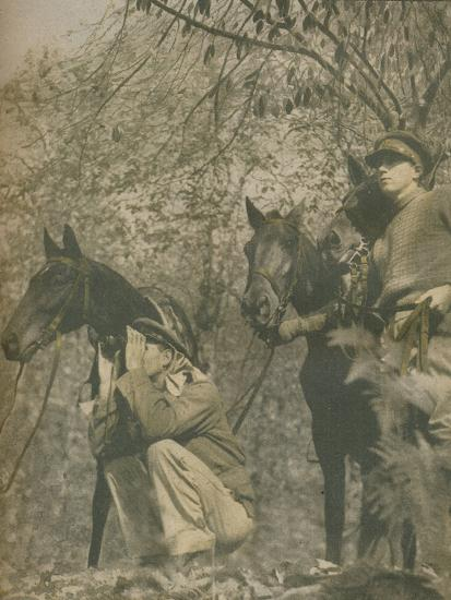 'Happy with Mounts Again', 1943-44-Unknown-Photographic Print
