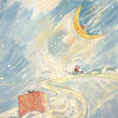 Happy Xmas-David Cooke-Giclee Print