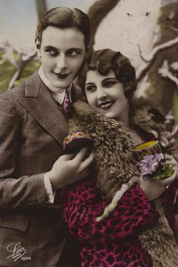 Happy Young Couple--Photographic Print