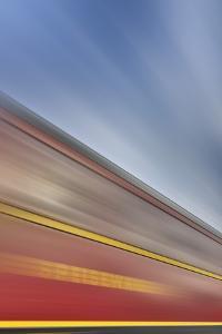 Railway Car, Lettering, Dining Car, Heaven, Sky, Blur by Harald Schšn