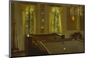 The Billiard Room by Harald Slott-Moller