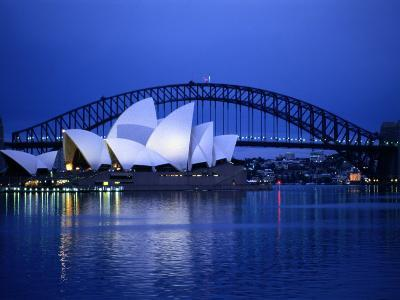 Harbor and Sydney Opera House-Sam Abell-Photographic Print