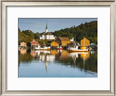 Harbor At Rest Photographic Print Michael Blanchette Art Com
