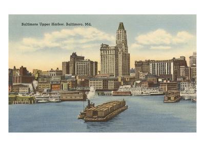 Harbor, Baltimore, Maryland--Art Print