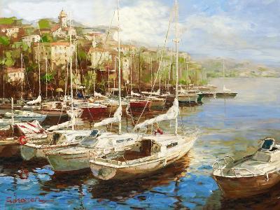 Harbor Bay-Furtesen-Art Print