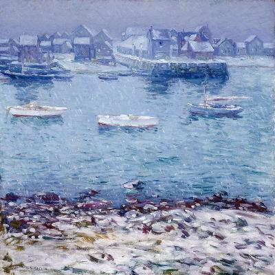 Harbor in Winter-Charles Kaelin-Giclee Print