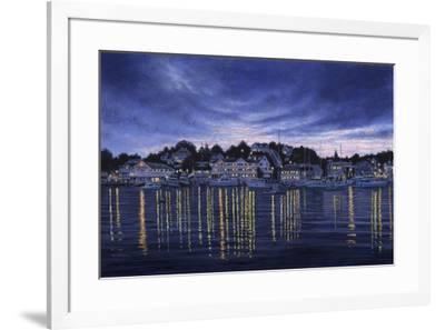 Harbor Lights-John Morrow-Framed Giclee Print