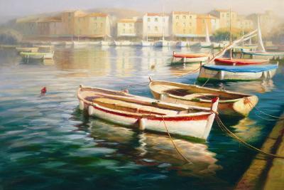 Harbor Morning I-Roberto Lombardi-Art Print