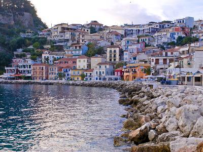 Harbor of Parga, Mainland Greece, Greece, Europe--Photographic Print