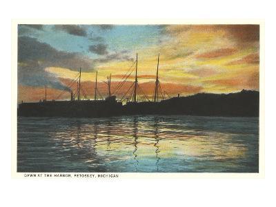 Harbor, Petoskey, Michigan--Art Print