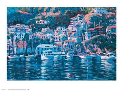 Harbor Reflections-John Cosby-Art Print