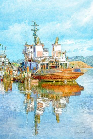 Harbor Tug-Ramona Murdock-Art Print