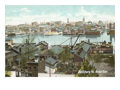Harbor View, Baltimore, Maryland--Art Print