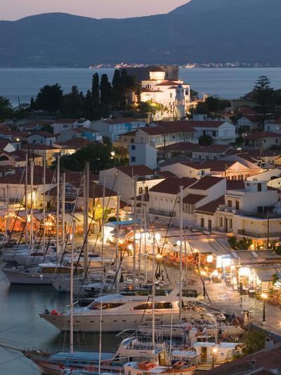 Harbor View, Pythagorio, Samos, Aegean Islands, Greece-Walter Bibikow-Photographic Print