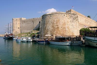 Harbour and Castle, Kyrenia (Girne), North Cyprus-Peter Thompson-Photographic Print