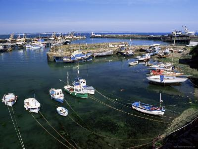 Harbour and Fishing Fleet, Penzance, Cornwall, England, United Kingdom-Gavin Hellier-Photographic Print