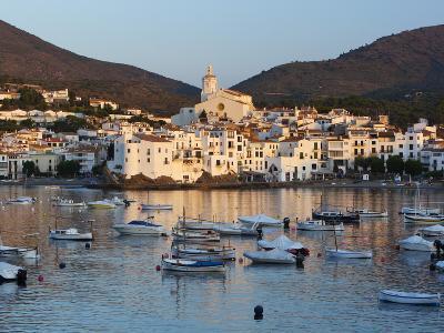 Harbour and Town, Cadaques, Costa Brava, Catalonia, Spain, Mediterranean, Europe-Stuart Black-Photographic Print