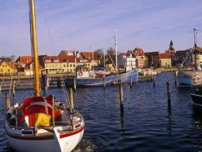 Harbour and Town of Faaborg, Denmark-Paul Harris-Photographic Print