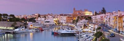 Harbour and Waterfront of Ciutadella, Menorca, Balearic Islands, Spain-Doug Pearson-Photographic Print