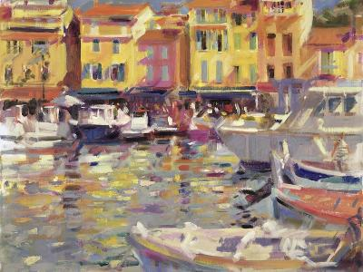 Harbour at Cassis-Peter Graham-Giclee Print
