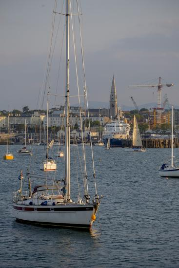 Harbour at Dun Laoghaire, a Suburb of Dublin-Tim Thompson-Photographic Print