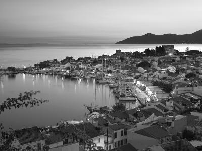 Harbour at Dusk, Pythagorion, Samos, Aegean Islands, Greece-Stuart Black-Photographic Print
