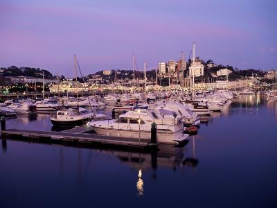 Harbour at Dusk, Torquay, Devon, England, United Kingdom-Lee Frost-Photographic Print