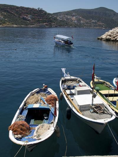Harbour at Kalkan, a Popular Tourist Resort, Antalya Province, Anatolia, Turkey--Photographic Print