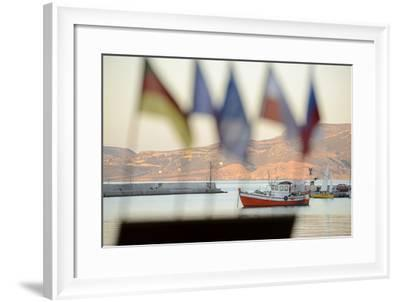 Harbour at Sitia, Crete, Greece, Europe-Christian Heeb-Framed Photographic Print