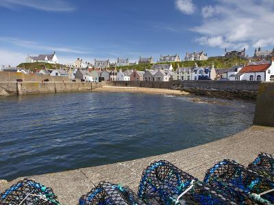 Harbour, Findochty, Moray, Scotland-David Wall-Photographic Print