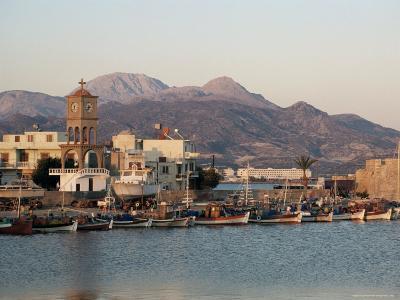 Harbour, Ierapetra, Crete, Greece-James Green-Photographic Print