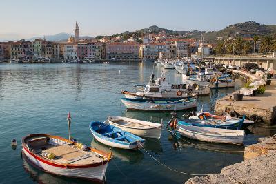 Harbour, Imperia, Liguria, Italy, Europe-Frank Fell-Photographic Print