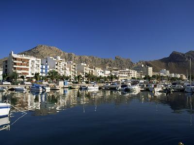 Harbour in the Morning, Puerto Pollensa, Majorca, Balearic Islands, Spain, Mediterranean-Ruth Tomlinson-Photographic Print