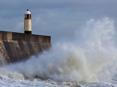 Harbour Light, Porthcawl, South Wales, Wales, United Kingdom, Europe-Billy Stock-Photographic Print