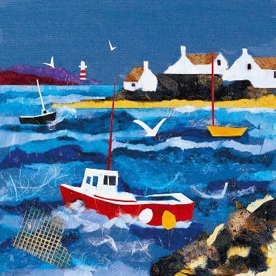 Harbour Lights I-Anuk Naumann-Giclee Print