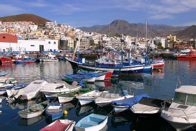 Harbour, Los Cristianos, Tenerife, Canary Islands, 2007-Peter Thompson-Photographic Print